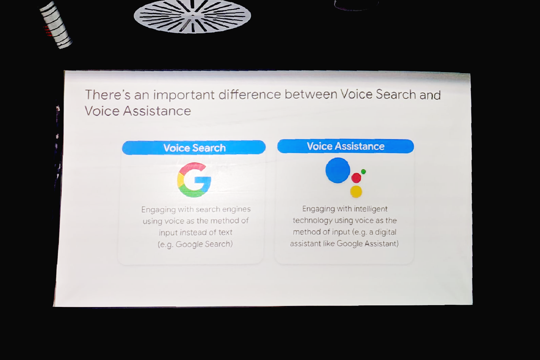 whats the difference between a voice assistant and a voice interface website hero