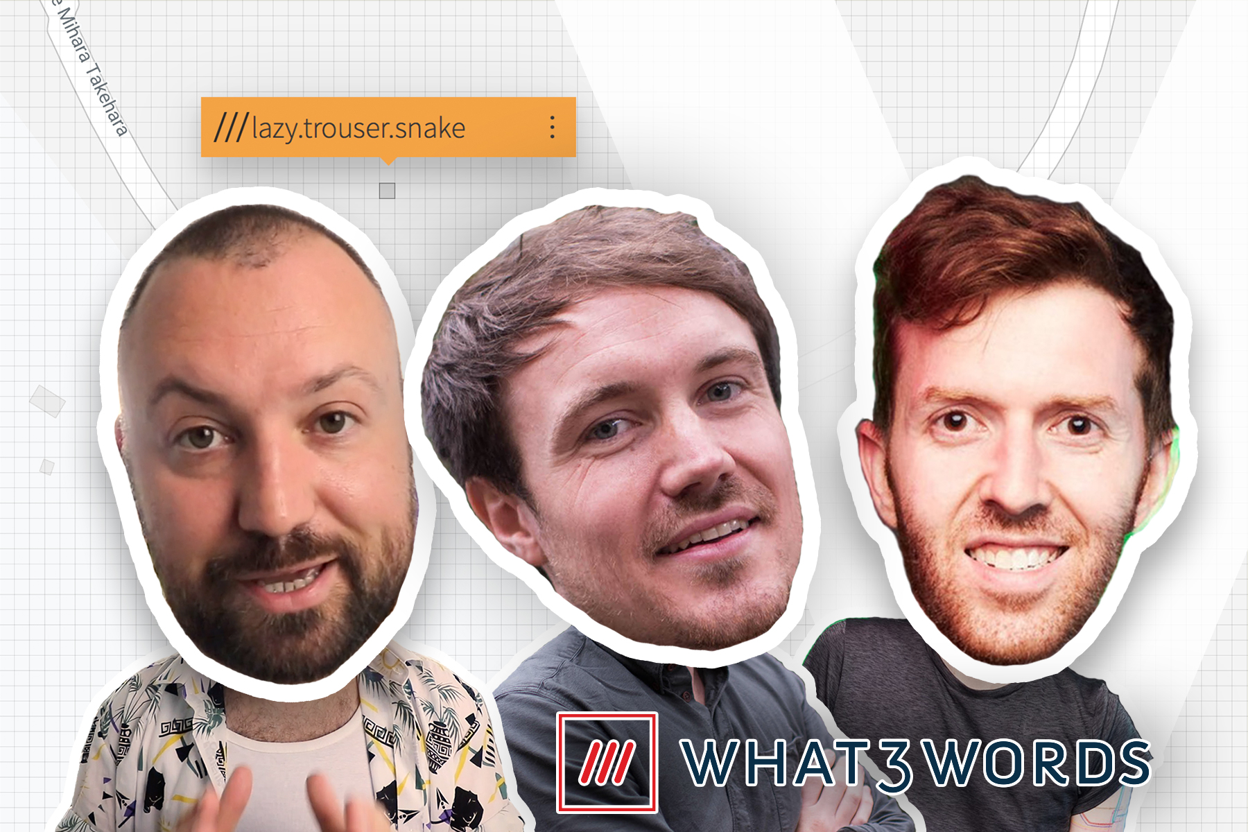 josh Wigmore of what 3 words on vux world