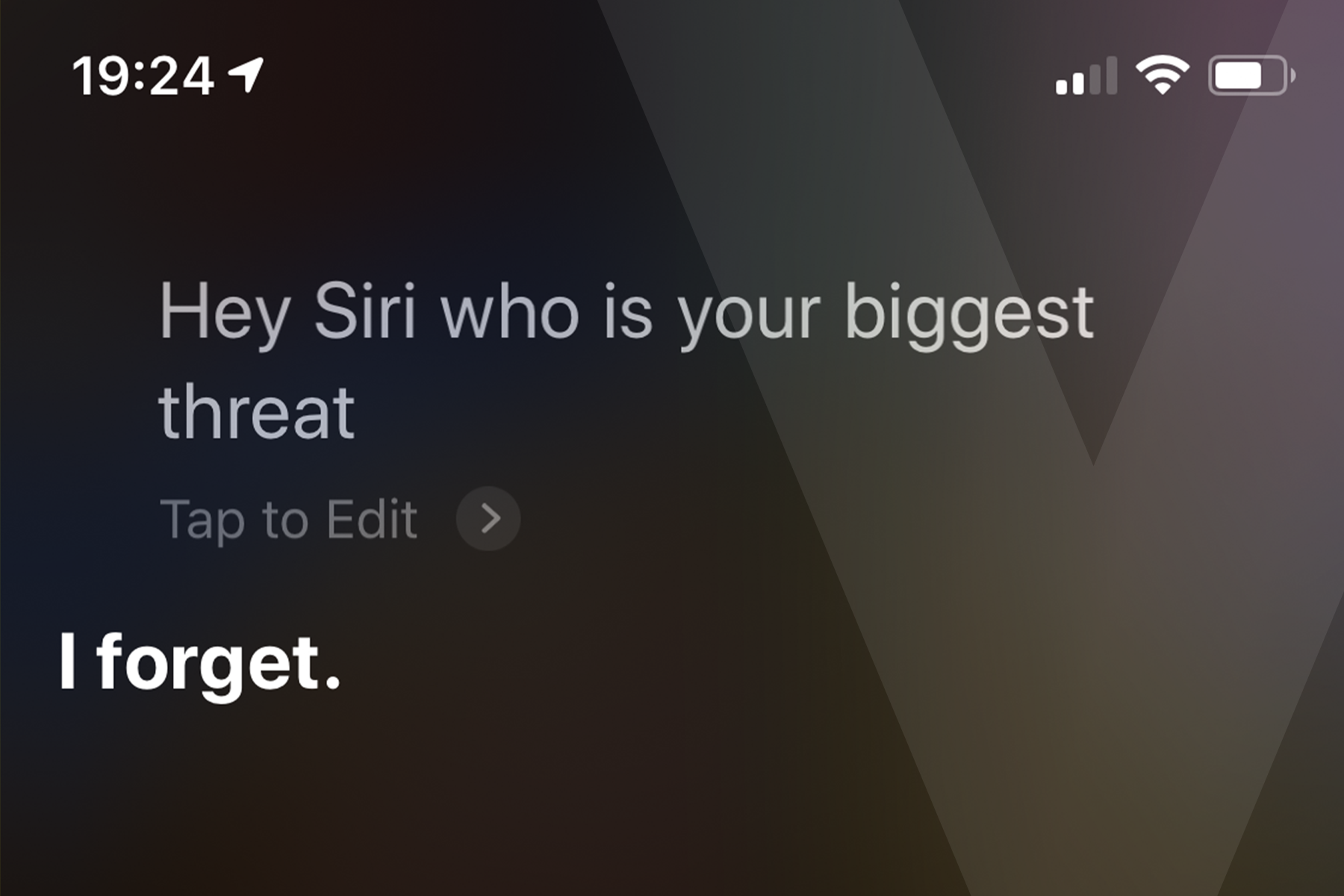 Siri's biggest threat?