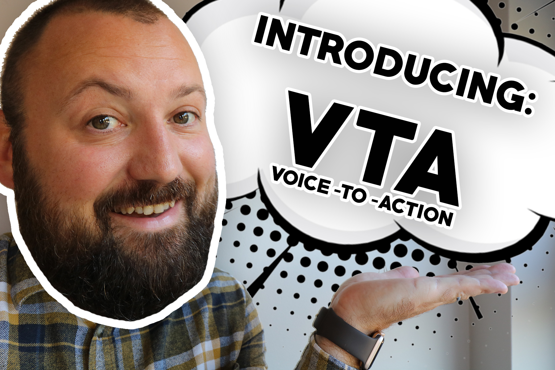 Introducing voice to action website hero image