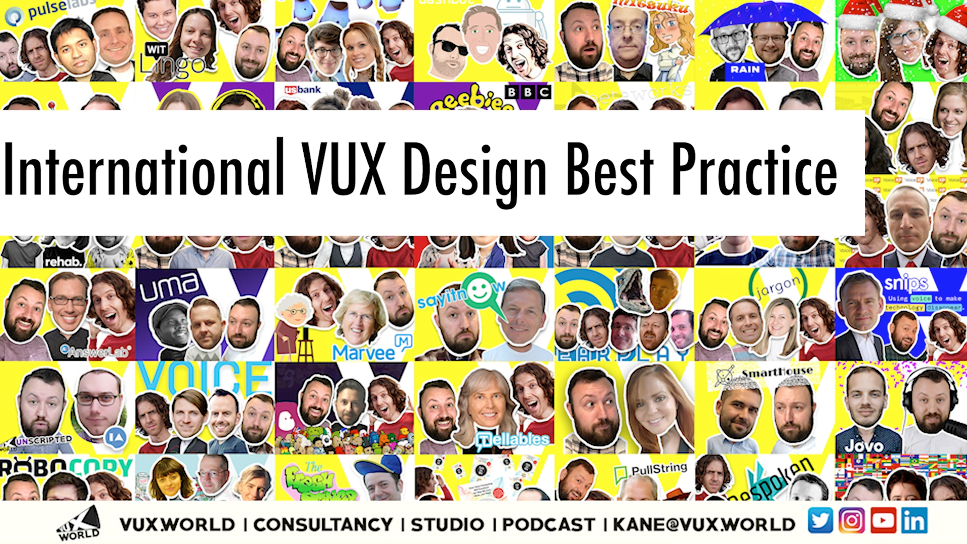 International VUX design best practice YouTube thumbnail