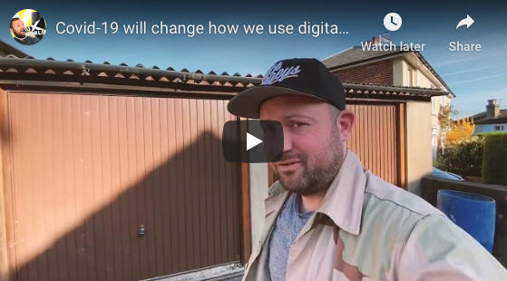 Covid-19 will change how we use digital screens outside of the home