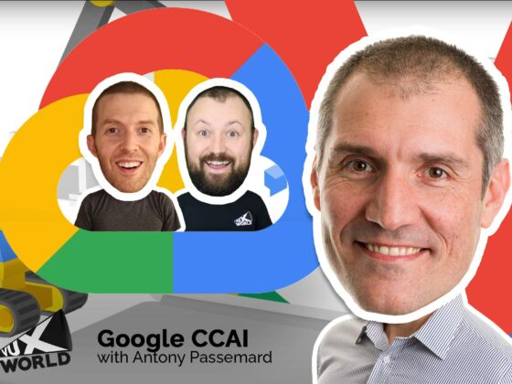Google CCAI Contact Centre AI with Google Cloud's Antony Passemard on VUX World
