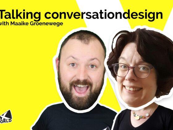 Talking conversation design with Maaike Greonewege