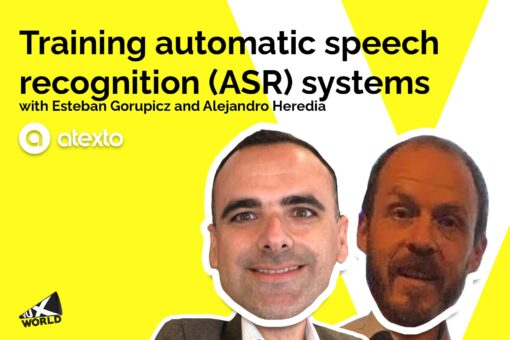 Training speech recognition systems (ASR) with Atexto