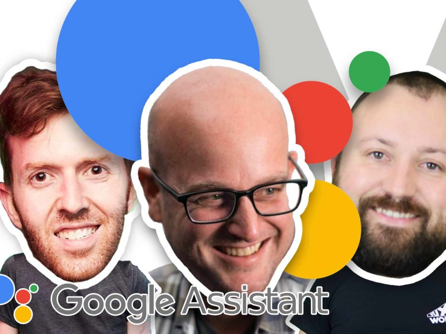Daniel Padgett of Google on VUX World with Kane Simms and Dustin Coates