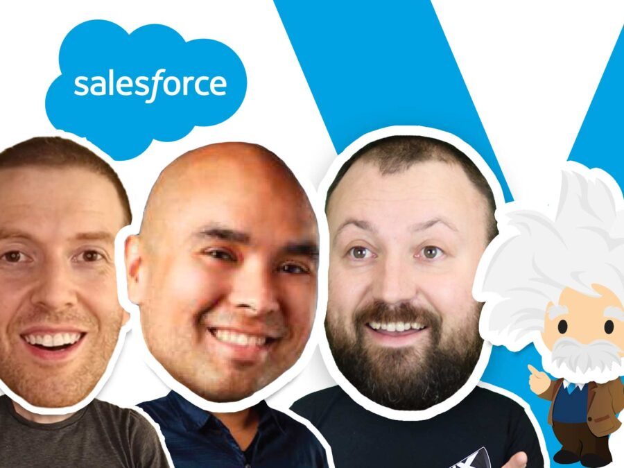 greg bennett salesforce on vux world discussing conversation design and the einstein bot builder