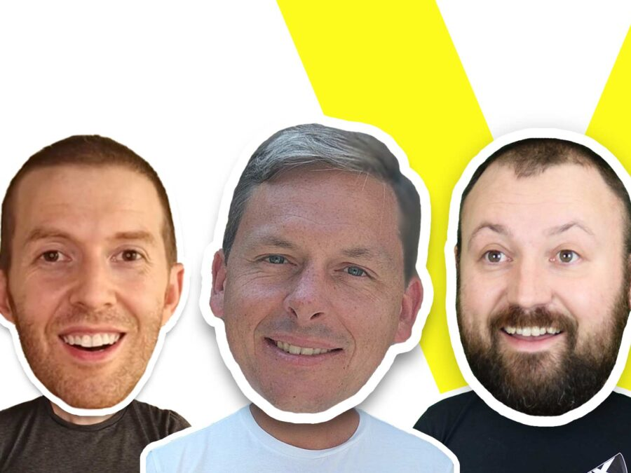 charlie cadbury of say it now with kane simms and dustin coates on vux world live