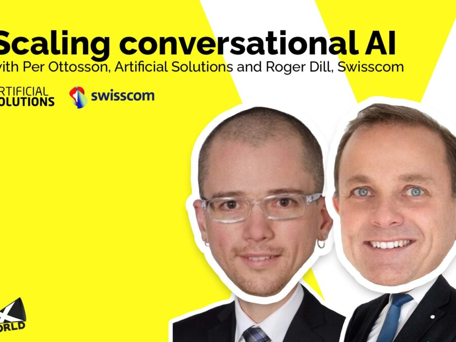 Head of Dialogue Management, AI and ML at Swisscom and CEO of Artificial Solutions share insights on how to scale a conversational AI practice